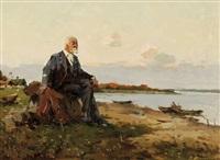 poet by the river by vitali aleksandrovich markin
