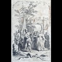 rebecca al pozzo (+ 3 others; 4 works) by giuseppe zocchi and jacopo amigioni