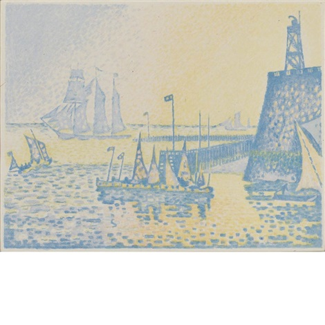 le soir by paul signac