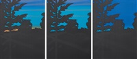twilight series (set of 3) by alex katz