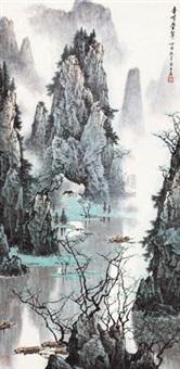 奇峰叠翠 by bai yu