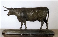 model of a cow by george garrard