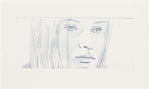 kasha from june ekmans class by alex katz
