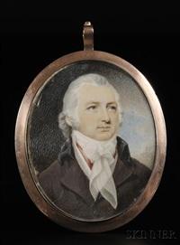 portrait miniature of a gentleman by robert field