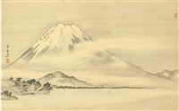 mount fuji by gantai
