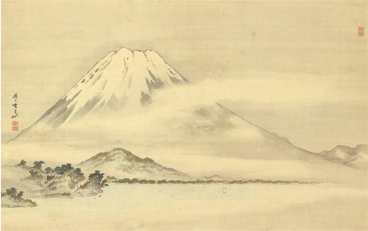 mount fuji by gantai