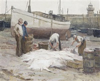 rae fish - st. ives by william cave day