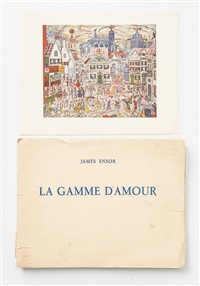 la gamme d'amour (album w/22 works) by james ensor