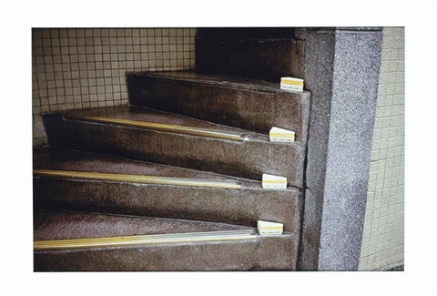 sandwich steps by gabriel orozco