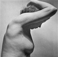aktstudie (+ 2 others, various sizes; 3 works) by josef vetrovsky