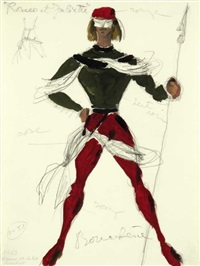 costume design for the ballet romeo and juliet by dimitri bouchene