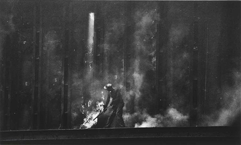 dance of the flaming coke variant pittsburgh by w eugene smith
