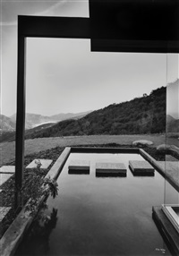 richard neutra, singleton house by julius shulman