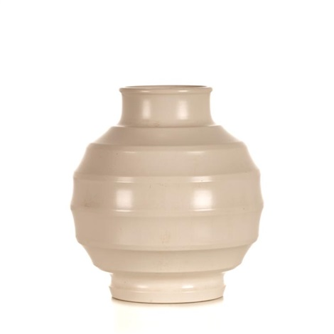 Keith Murray For Wedgwood Annular Spherical Vase By Keith Murray On