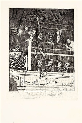 the mogul tavern drury lane by walter richard sickert