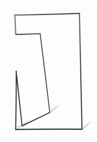 thin black lines (7000mm hanger rack) by nendo