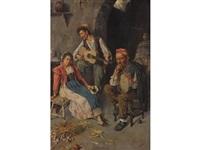gypsy musicians by edwardo scognamiglio