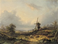 on the outskirts of a rhenish town by constantinus cornelis huysmans