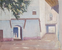 street scene by norman lloyd