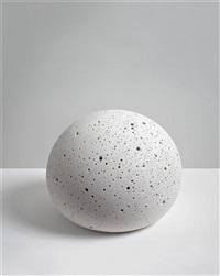 small plaster orb by tom friedman