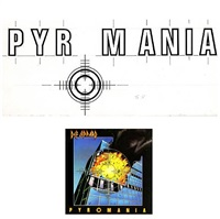 def leppard, pyromania by andie airfix