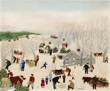 artwork by grandma moses