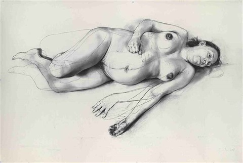 umbilical by jenny saville