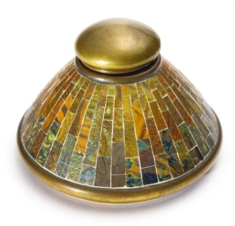 inkstand by tiffany studios