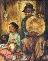 street musicians by ernst agerbeek