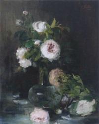 rosenstrauß in vase by clara elisabeth fischer