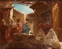 souk à marrakech by andré rigoulot