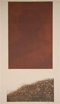 gandhi iii by liliana porter