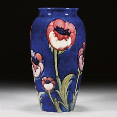 Poppy Vase By Clarice Cliff Moorcroft On Artnet