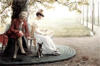 courtship by felix friedrich von ende