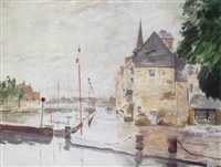 honfleur by norman edgar