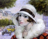 parisienne by francois batet