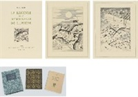 la legende de la demoiselle de lumiere (illustrated book w/ 47 prints) by hasegawa kiyoshi