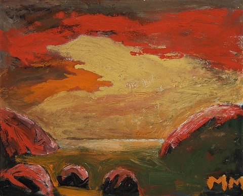 red clouds by mauno markkula