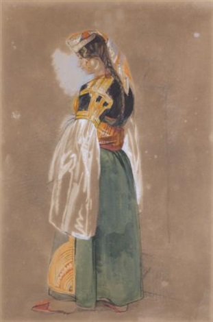 a jewish woman of gibraltar or tangier by john frederick lewis