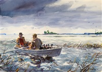 morning hunt by john whorf