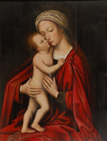 vierge à l´enfant by marcellus coffermans