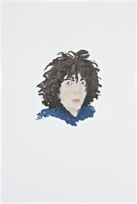 syd barrett portrait by richard aldrich