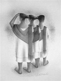 mayan trio by francisco dosamantes