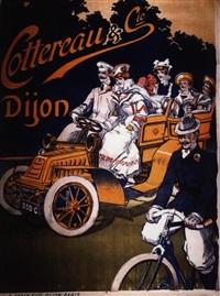 cottereau et cie - dijon (poster) by jack abeillé