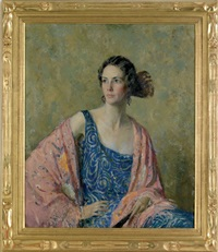 untitled (portrait of mrs. godfrey freeman) by howard logan hildebrandt