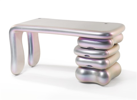 unique desk by mattia bonetti