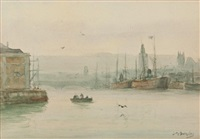 the port of montreal by james macdonald barnsley