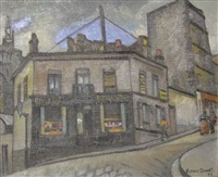 montmartre, la rue drevet by alfred dunet