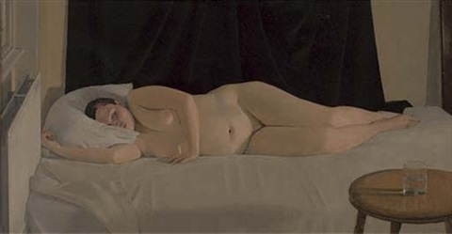 reclining nude by nicolas granger taylor