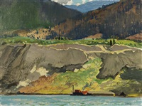 near penticton, bc by george franklin arbuckle